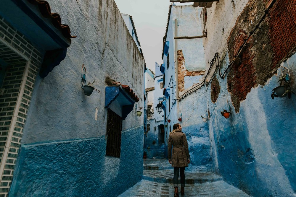 Chefchaouen, Morocco - Destination Wedding Photographer