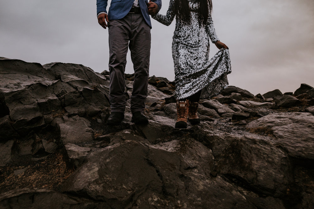 Iceland Engagement - Vow of the Wild 35