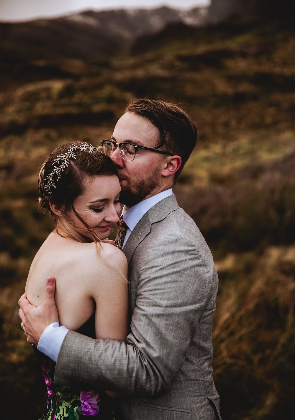 Old Mand of Storr - Isle of Skye, Scotland Elopement - Wedding Videographer - Wedding Photographer