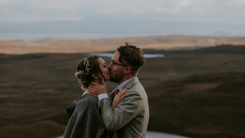 Quiraing Wedding Ceremony Isle of Skye Wedding Videographer