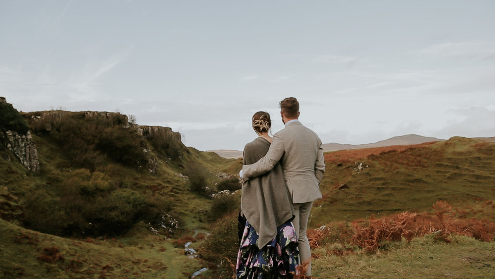 Faerie Glen Isle of Skye Wedding Videographer