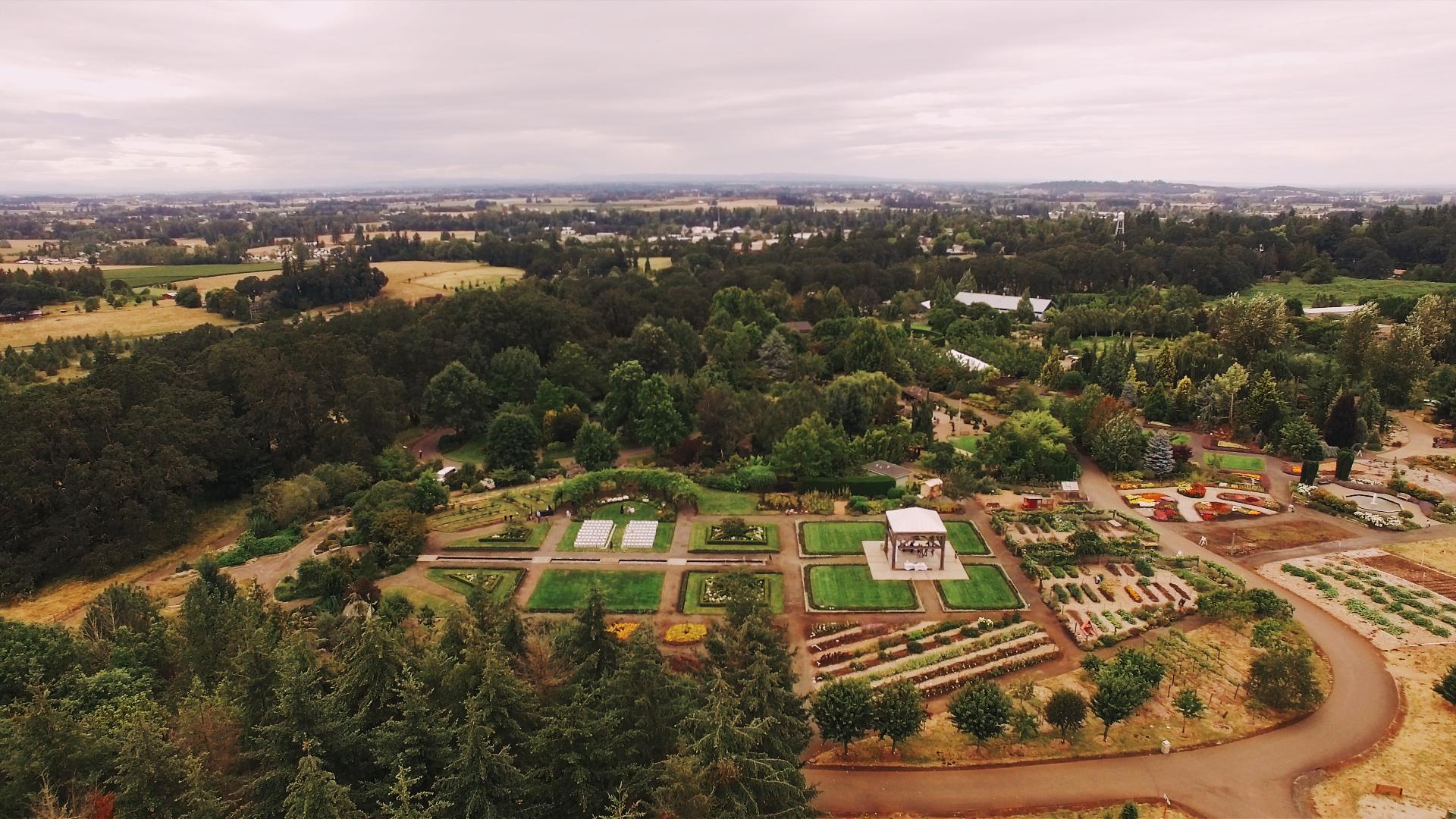 The Oregon Garden | Oregon Wedding Videographer — Journal — Vow of ...