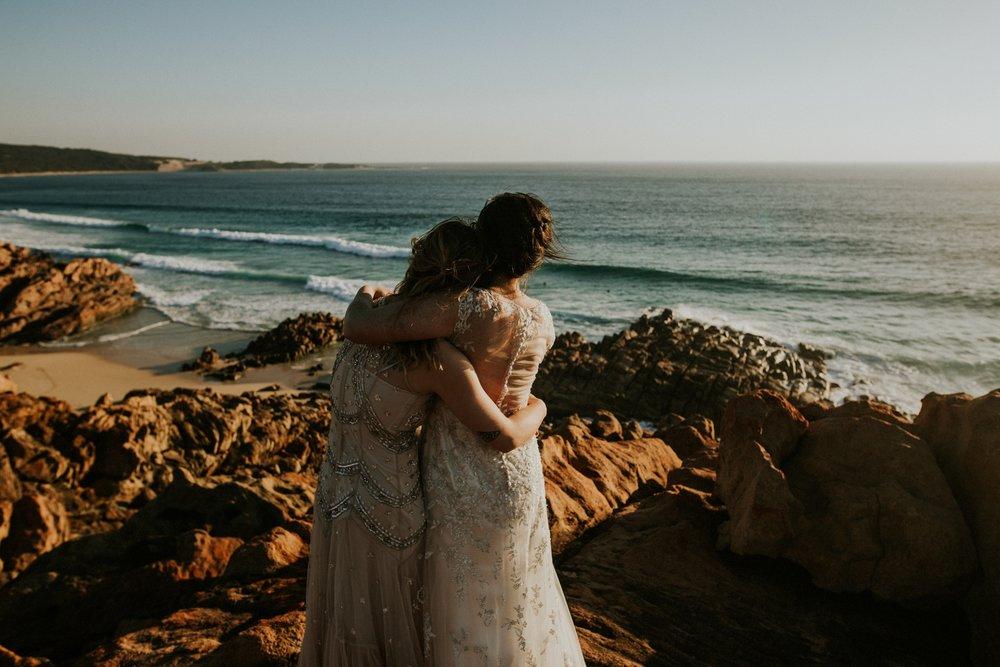 Catie + Jessica Western Australia | Elopement Photo + Video