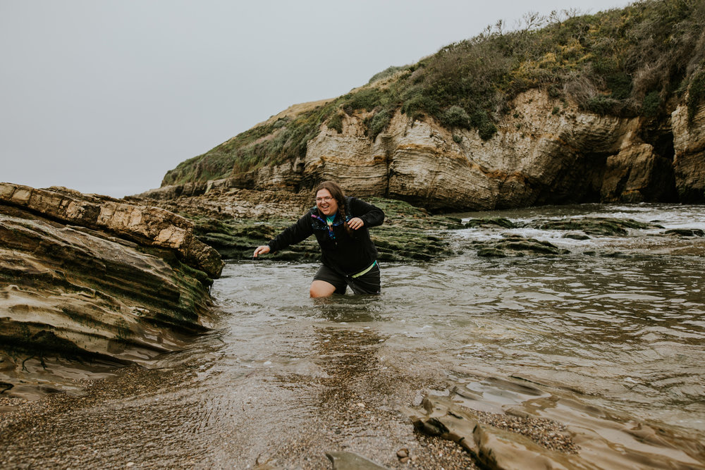 Morro Bay, California - Montaña de Oro State Park - Elopement Photographer - Vow of the Wild