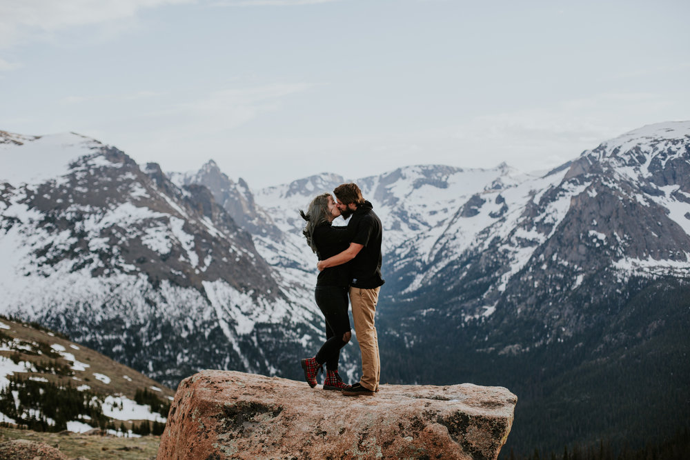 Analisa + Max | Rocky Mountain National Park Adventure Session