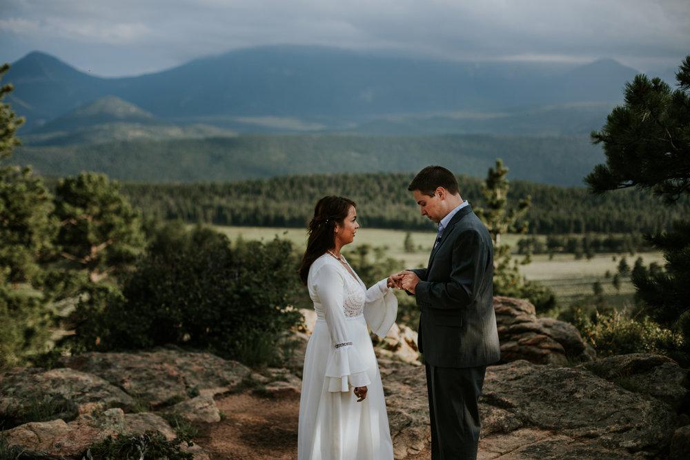 Colorado Wedding Videographer | Rocky Mountain National Park Elopement | Vow of the Wild