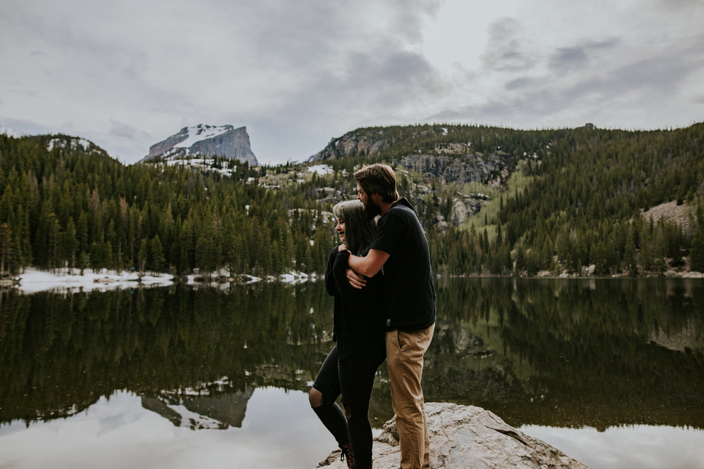 Analisa + Max | Rocky Mountain National Park | Adventure Session