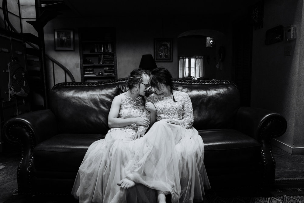 Taos New Mexico Elopement Photographer - same sex wedding