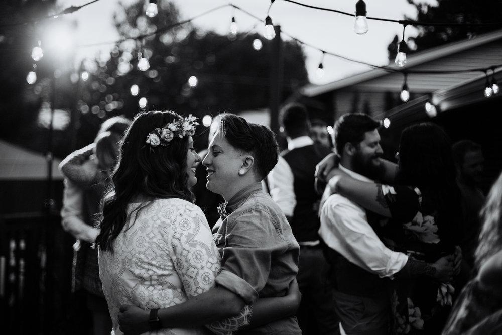 Colorado Intimate Wedding Photographer - Backyard Wedding - Vow of the Wild