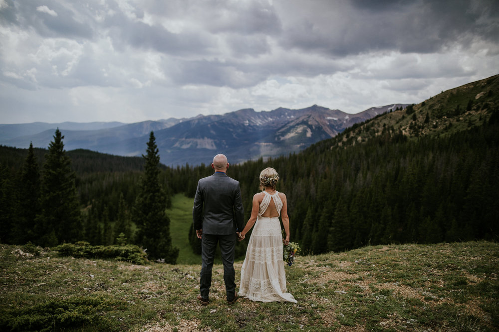 Brandi + Dusty | Rocky Mountain National Park | Elopement Photo + Video