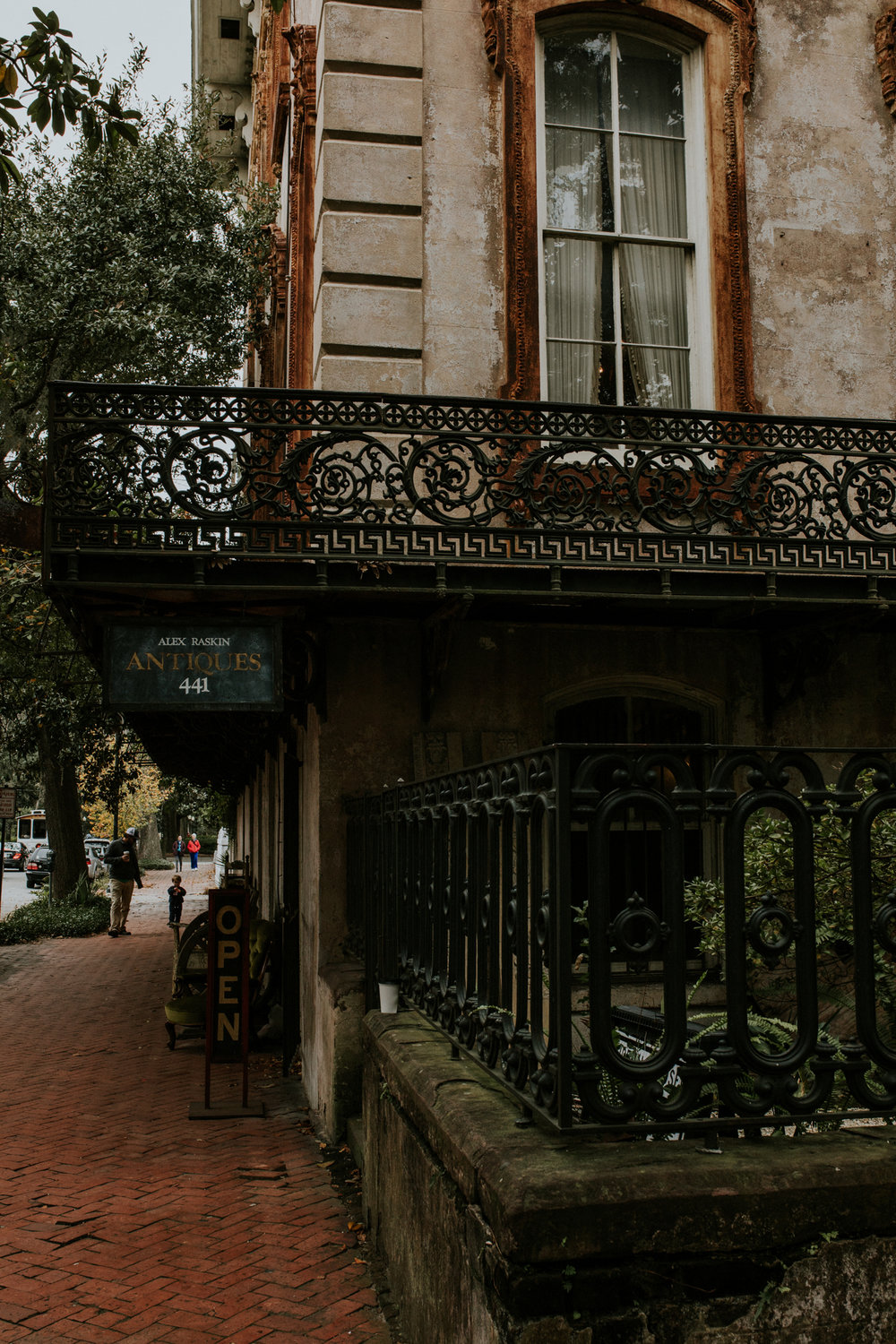 Alex Raskin Antiques - Savannah Georgia Travel - Destination Elopement Photographer - Vow of the Wild