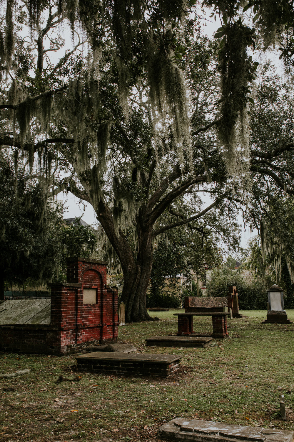 Colonial Park Cemetery - Savannah Georgia Travel - Destination Elopement Photographer - Vow of the Wild