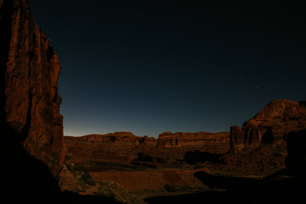 Corona Arch - Star Photography - Moab Elopement Photographer - Moab Elopement Videographer - Vow of the Wild