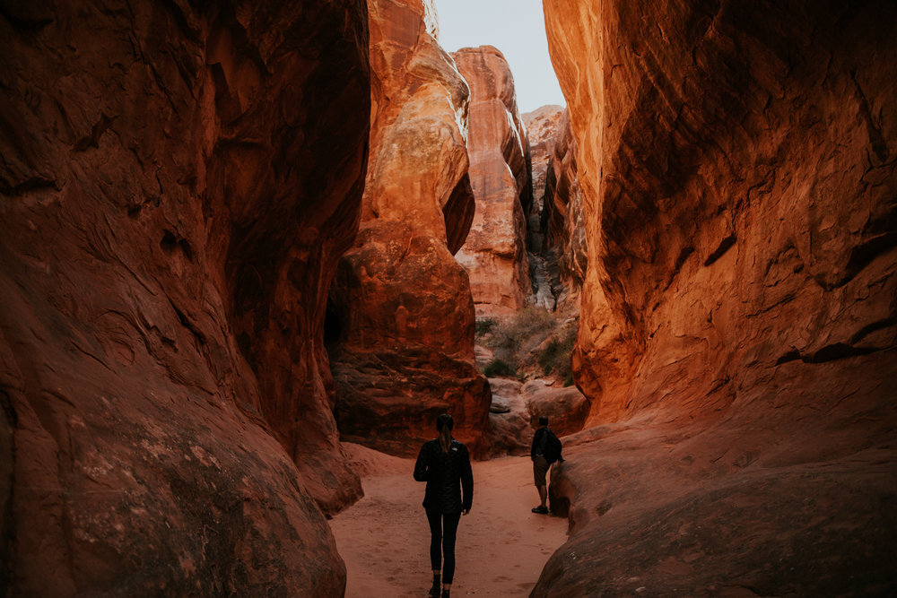 Arches National Park - Fiery Furnace - Moab Elopement Photographer - Moab Elopement Videographer - Vow of the Wild