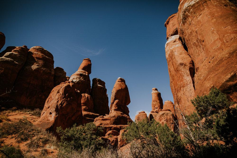 Arches National Park - Moab Elopement Photographer - Moab Elopement Videographer - Vow of the Wild