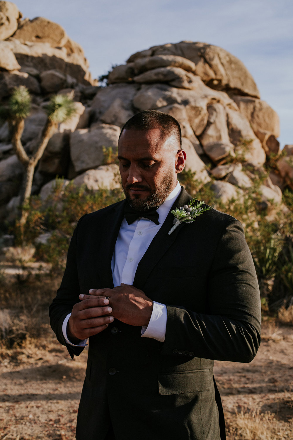 Joshua Tree Elopement Photographer - Destination Elopement Videographer - Joshua Tree Wedding - Vow of the Wild