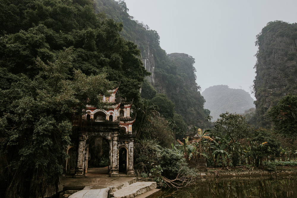Bich Dong Pagoda - Ninh Binh Vietnam | Destination Elopement Photographer | Vow of the Wild