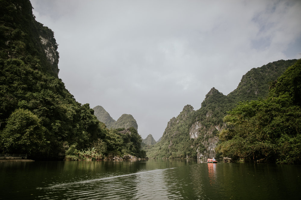 Trang An Grottoes Boat Ride - Ninh Binh Vietnam | Destination Elopement Photographer | Vow of the Wild
