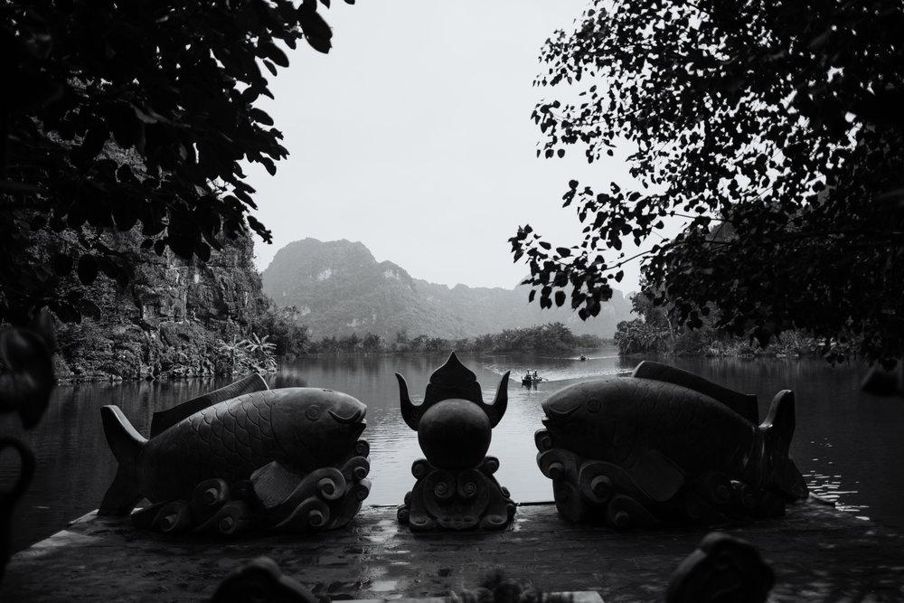 Trang An Grottoes Boat Ride - Ninh Binh Vietnam | Destination Elopement Photographer | Vow of the Wild