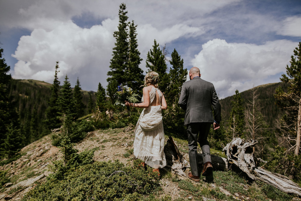 Brandi + Dusty | Colorado Elopement Photo + Video | Click to read their story