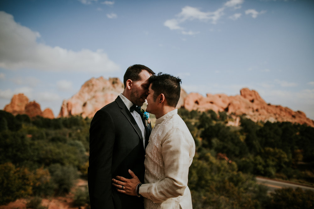 Philip + Michael | Colorado Elopement Photo + Video | Click to read their story