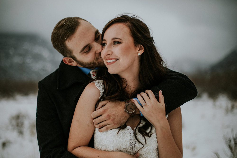 Taryn + Rustin | Colorado Elopement Photo + Video | Click to read their story