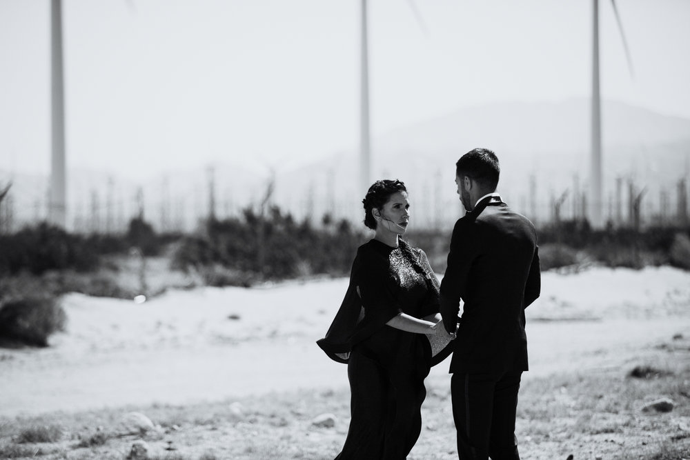 Palm Springs, California | Colorado Elopement Photographer | Vow of the Wild