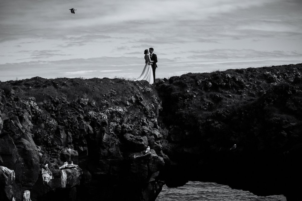 Iceland Wedding Photographer - Vow of the Wild - Snæfellsnes Peninsula Wedding - Arnarstapi