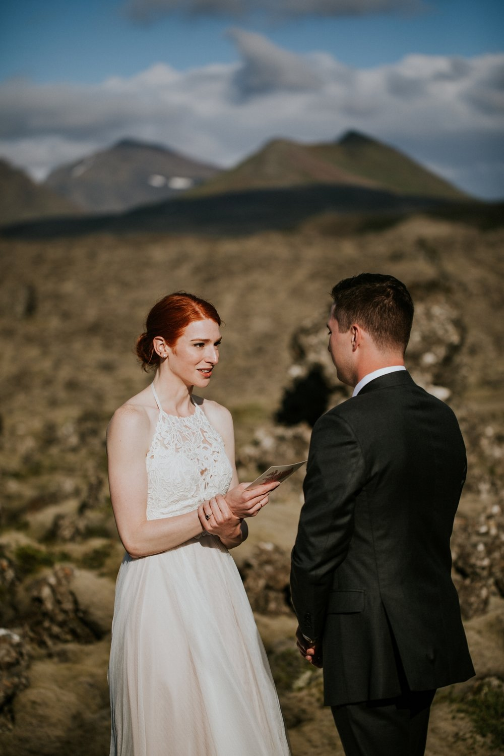 Iceland Wedding Photographer - Vow of the Wild - Snæfellsnes Peninsula Wedding - Lava Field
