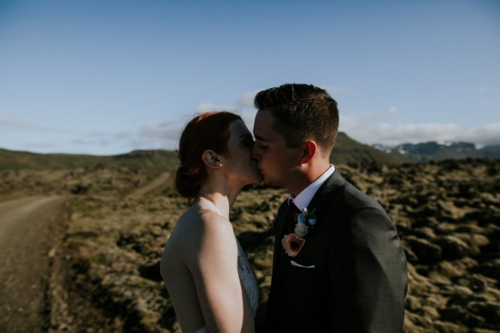 Iceland Wedding Photographer - Vow of the Wild - Snæfellsnes Peninsula Wedding - Lava Field
