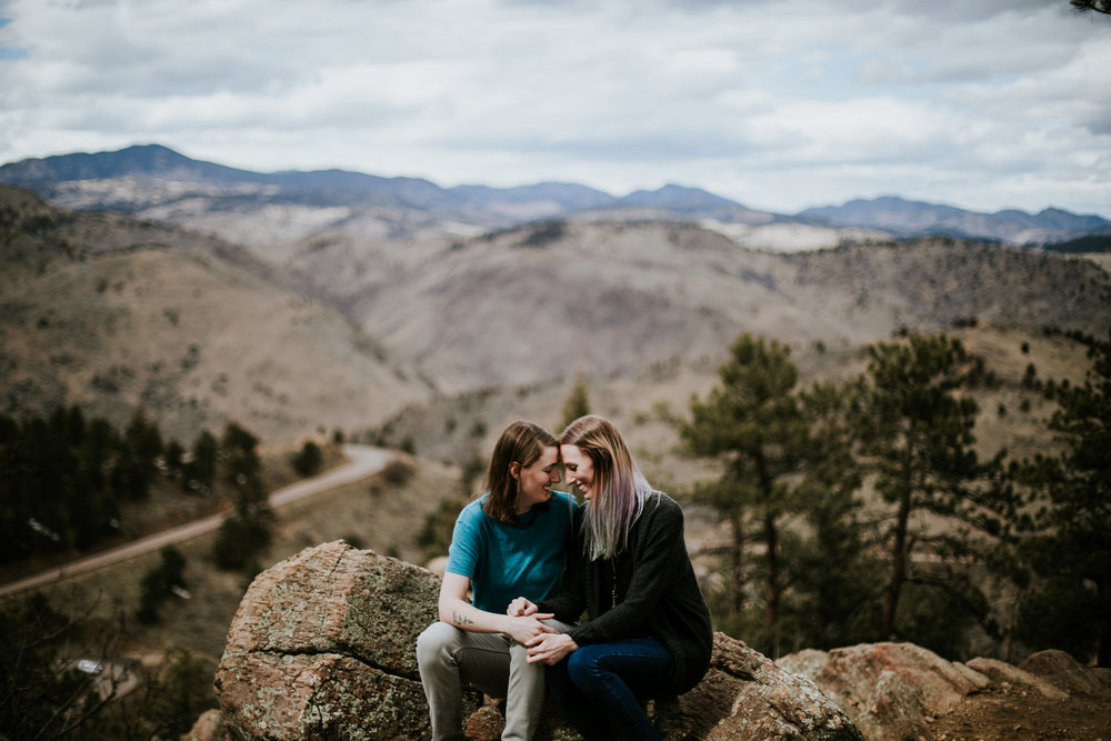 Rocky Mountain National Park Elopement | Colorado Elopement Photographer | Vow of the Wild