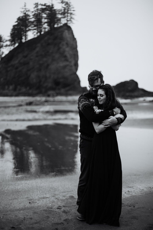 Olympic Peninsula - Washington | Destination Elopement Photographer - Vow of the Wild