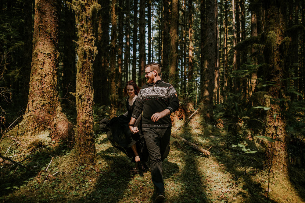 Elisa + Jake | Olympic National Park | Vow Renewal Photo + Video