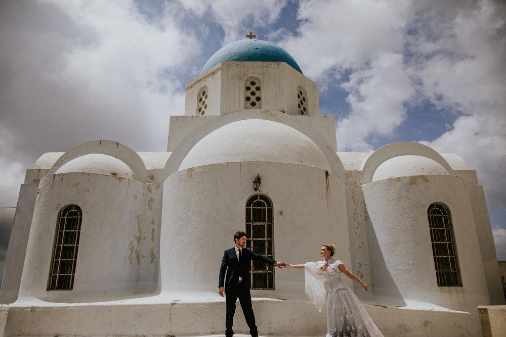 Santorini, Greece Elopement | Colorado Elopement Photographer | Vow of the Wild