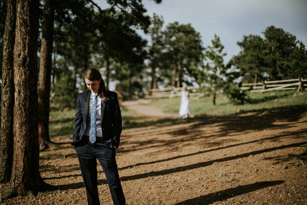 Colorado Mountain Elopement | Colorado Elopement Photographer + Videographer | Vow of the Wild