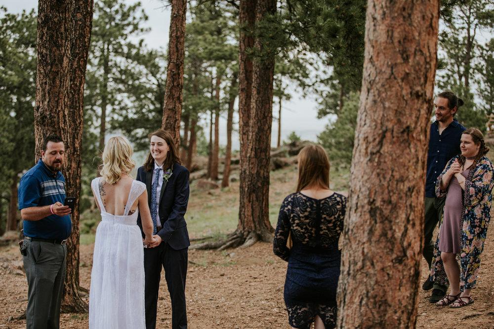 Colorado Mountain Elopement | Colorado Elopement Photographer + Videographer | Vow of the Wild