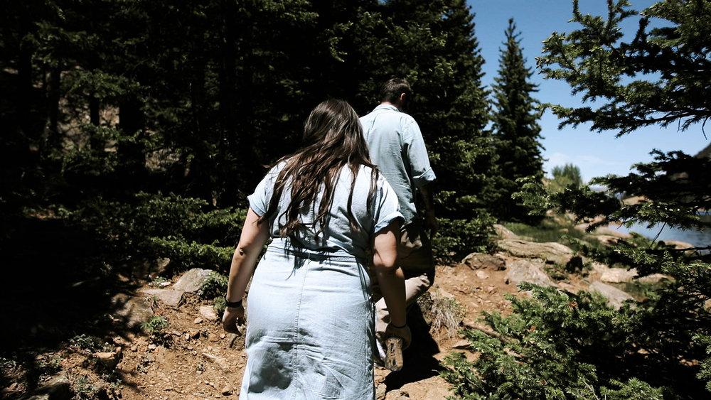 Secret Colorado Mountaintop Elopement | Colorado Elopement Photographer + Videographer | Vow of the Wild