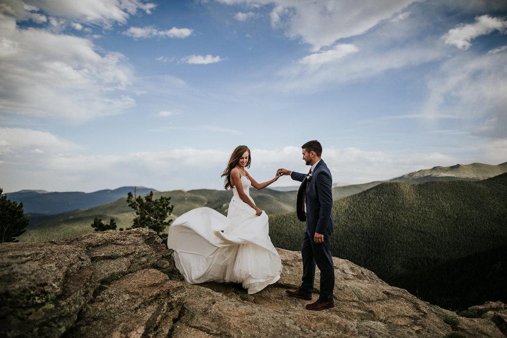 Samantha + Cameron | Colorado Elopement Photo + Video