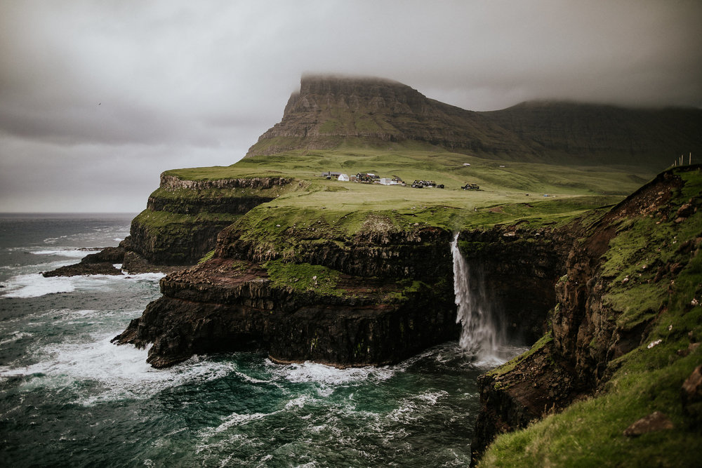 Brittany + Justin | Faroe Islands Elopement Photo + Video | Click to read their story