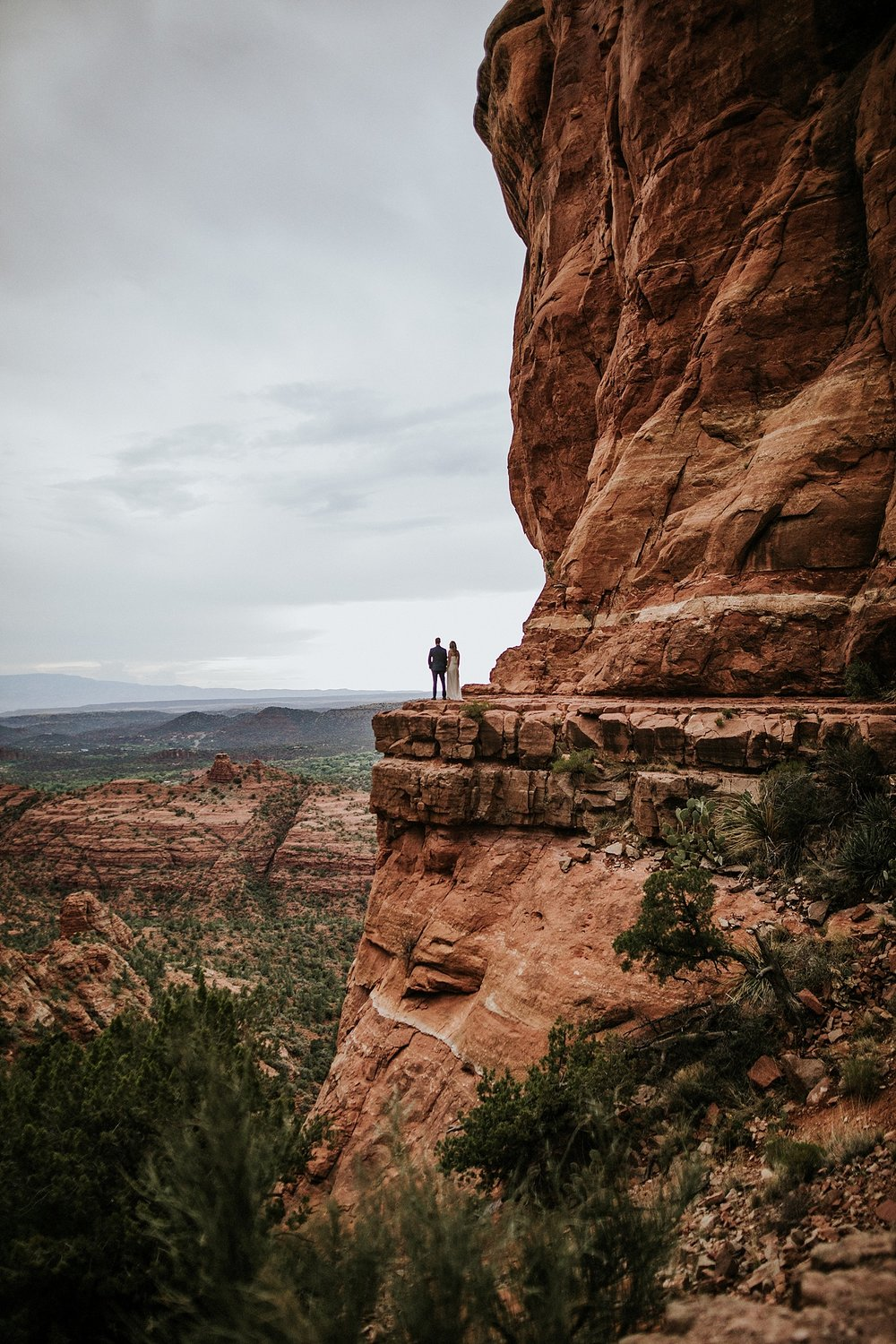 Anna + Stefan | Sedona Elopement Photo + Video | Click to read their story