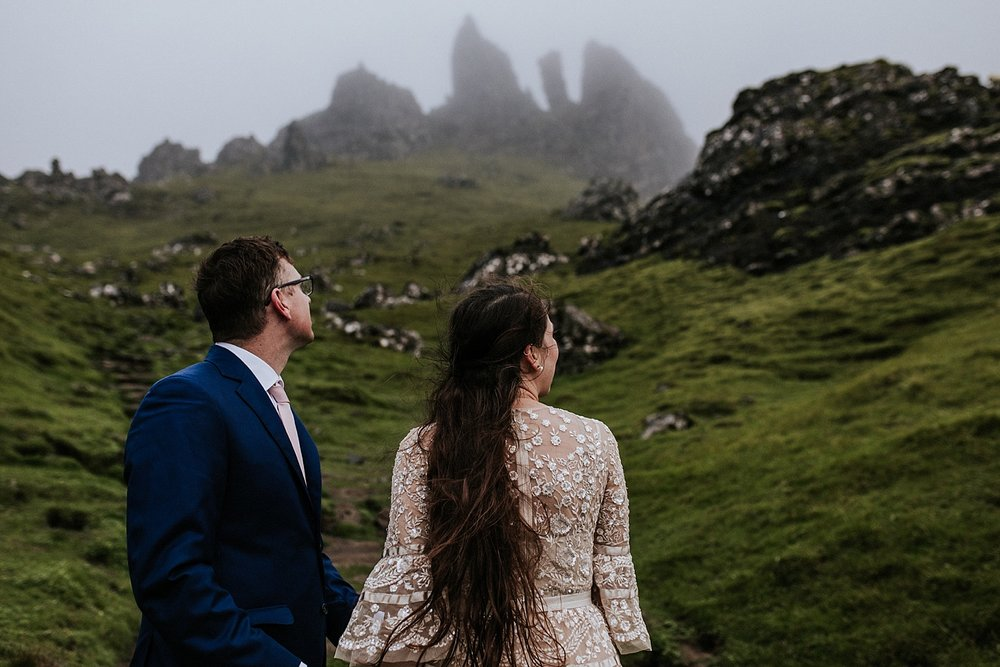 Old Man of Storr | Isle of Skye Elopement | Colorado Elopement Photographer + Videographer | Vow of the Wild