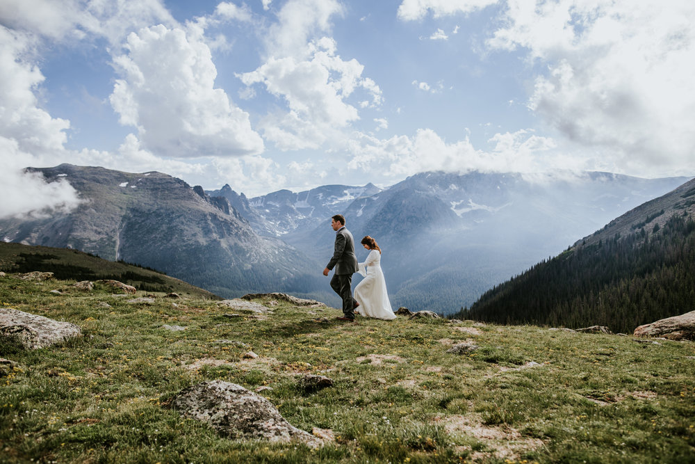 Elle + Ben | Colorado Elopement Photo + Video | Click to read their story