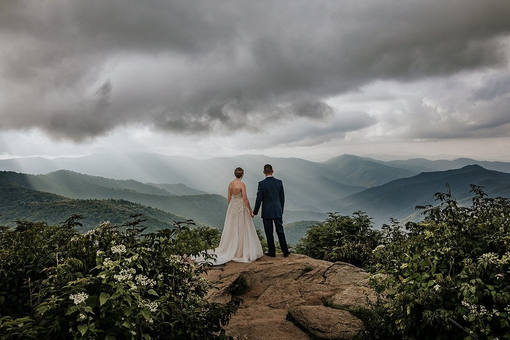 Madison + Damien in the Blue Ridge Mountains