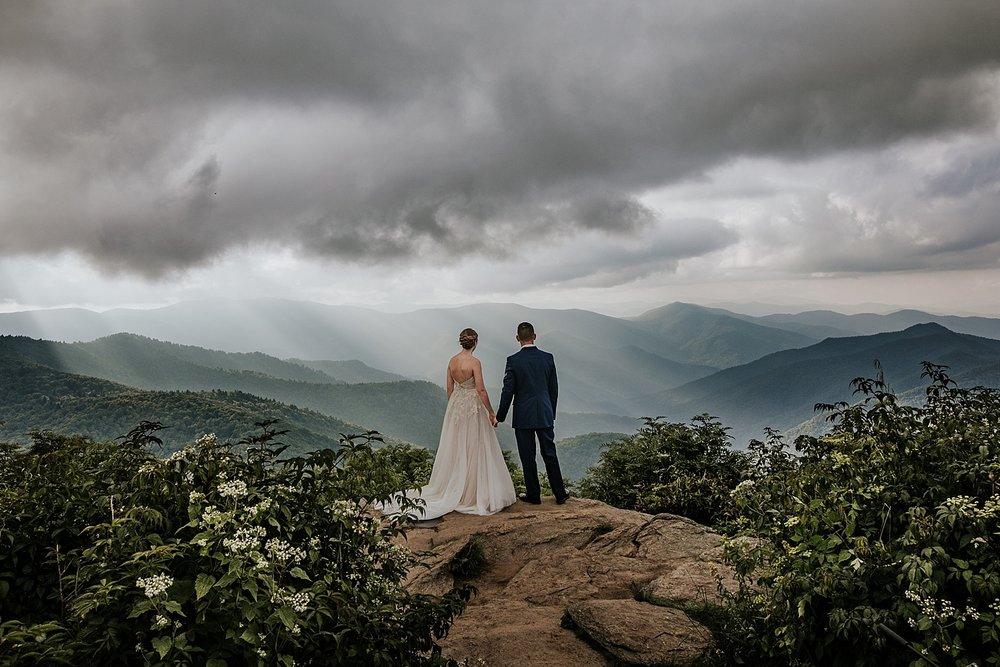 Madison + Damien in the Blue Ridge Mountains