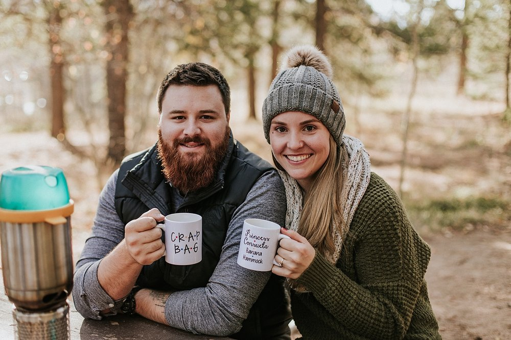 Colorado Mountain Engagement Photos | Adventure Session | Colorado Elopement Photographer