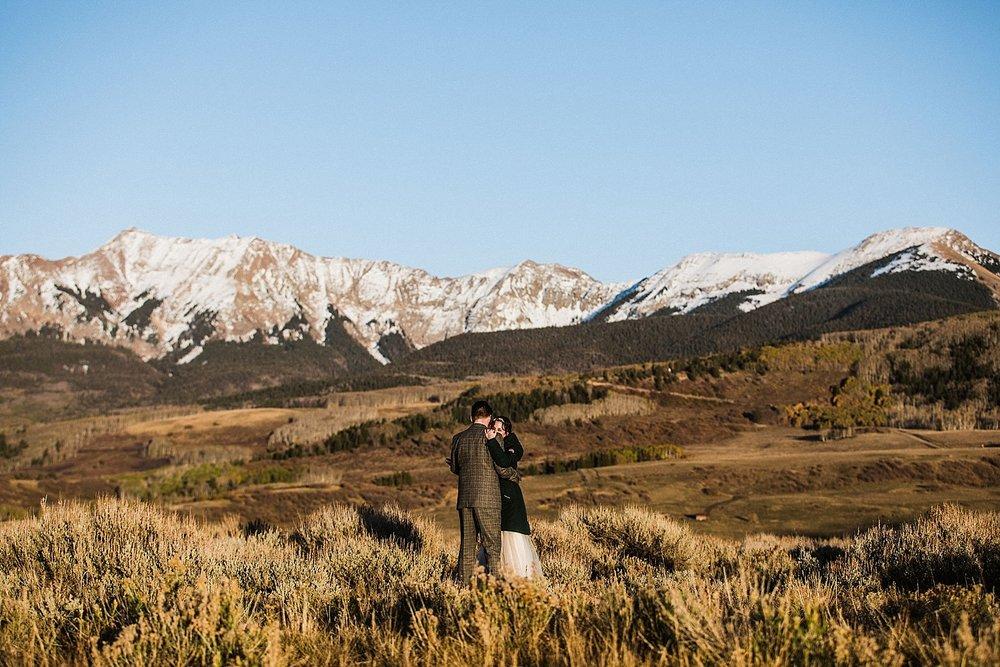Telluride Elopement | Colorado Elopement Photographer | Vow of the Wild