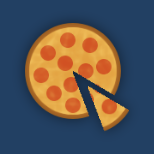 Pizza Icon for the Jepsquad Discord and Twitter accounts