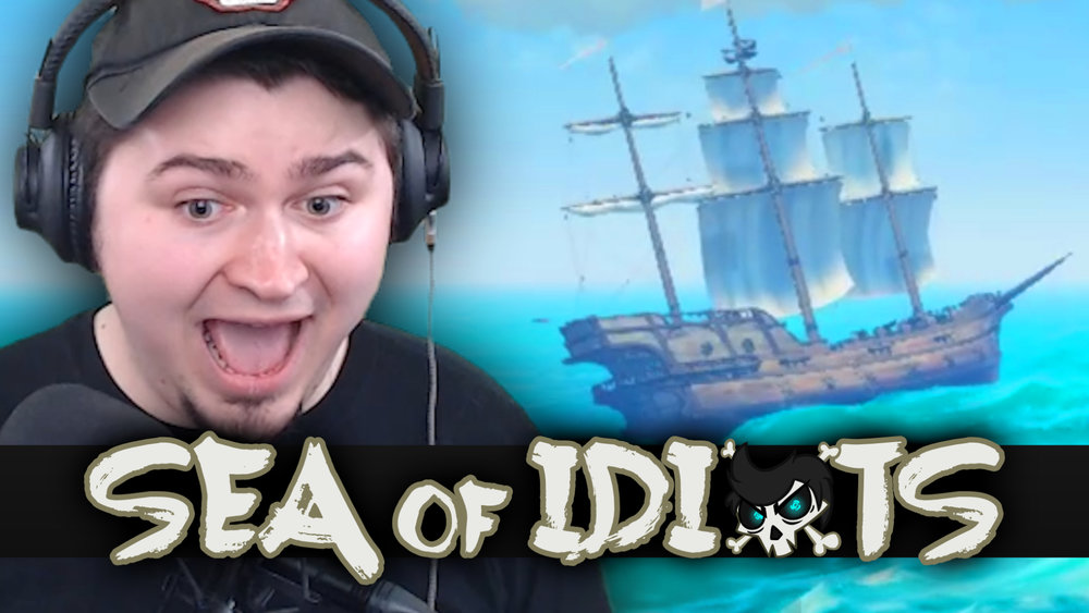 Thumbnail for Sea of Idiots, a recurring series on the JoshJepson YouTube channel