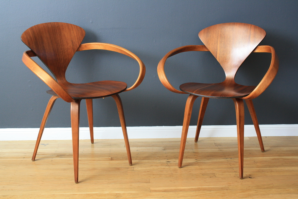 Copy of Pair of Vintage Cherner Pretzel Chairs