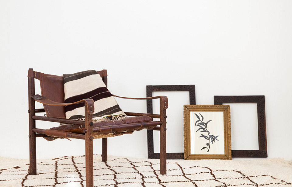 Arne Norell Safari Chair for Project Bly's Marrakech Lookbook